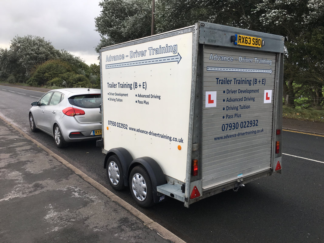 B+E Car and Trailer Training Course.
