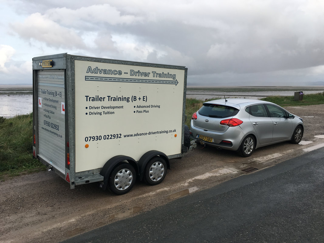 Trailer Training Course B+E, Blackburn, Lancashire.